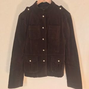 Mossimo chocolate brown jacket -size small